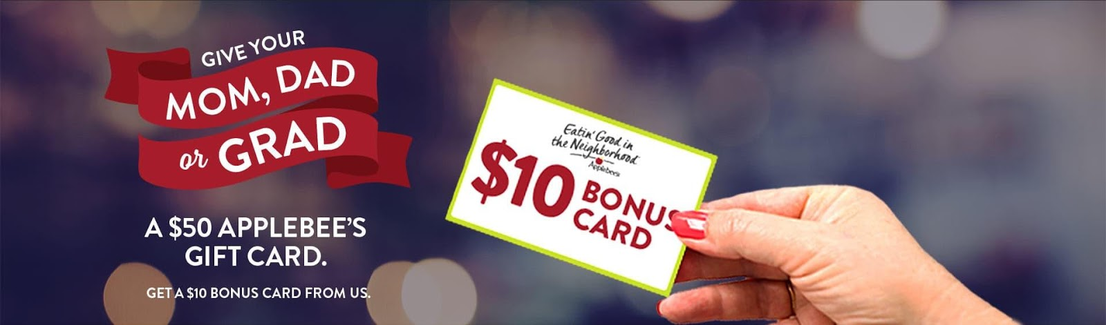 Applebees Gift Card